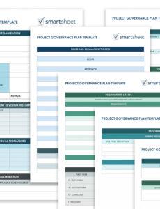 costum project management outline template pdf sample