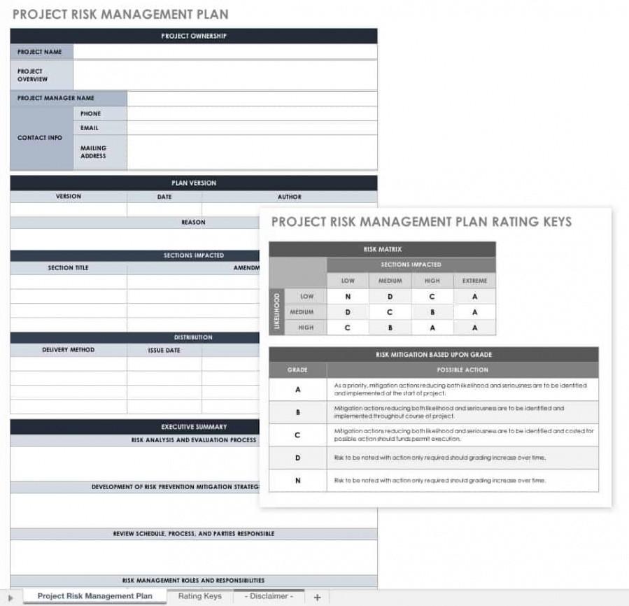 editable project management outline template pdf sample