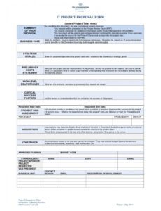 editable software project outline template doc