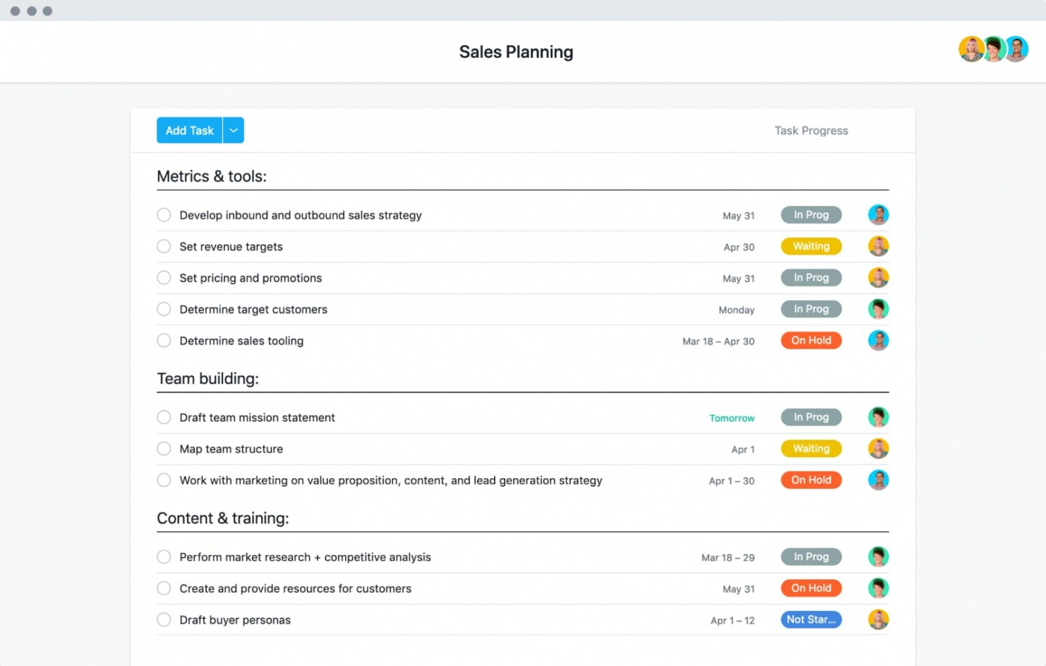 sales plan outline template doc