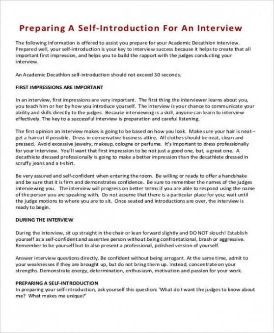 best self introduction speech outline template pdf