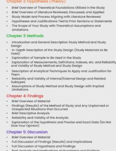 dissertation outline template  sample