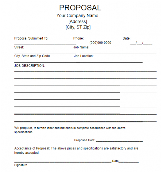 editable research proposal outline template pdf sample
