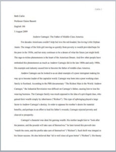 character study outline template excel sample