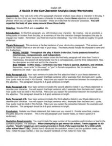 editable character study outline template pdf