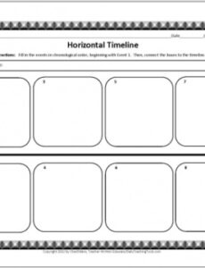 Best Family Timeline Template For Kids Doc Example