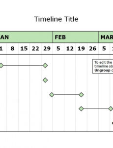Event Schedule Timeline Template Word Sample