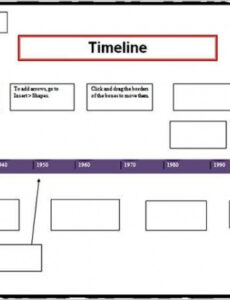 Free Life Event Timeline Template Word