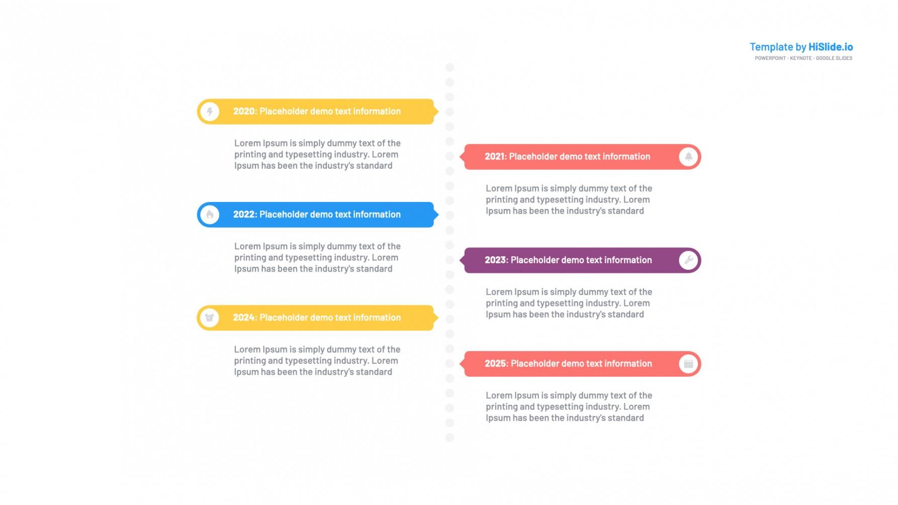 Best Timeline Vertical Template Pdf