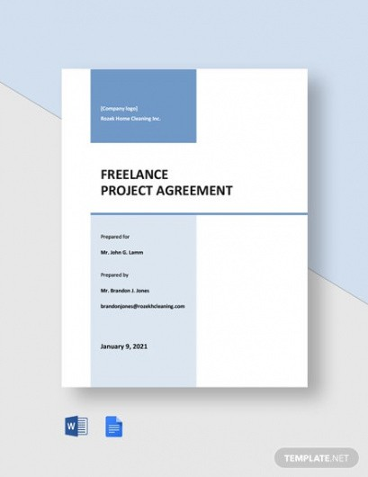 Costum Freelance Bookkeeping Contract Template Pdf