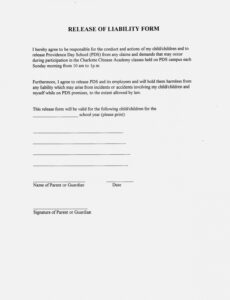 Editable Damage Contract Template