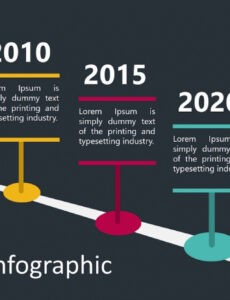 Editable Timeline Infographic Template Powerpoint Excel
