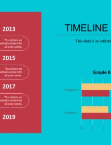 Editable Timeline Vertical Template Pdf Example