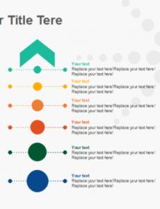 Professional Timeline Vertical Template  Sample