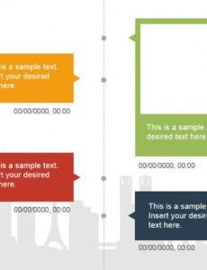Timeline Vertical Template Word