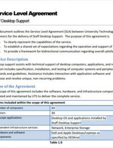 Best Website Service Contract Template  Example
