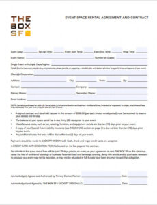 Best Wedding Band Contract Template Pdf
