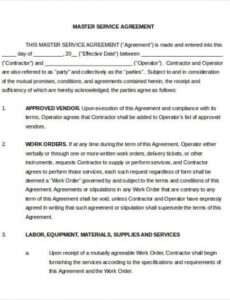 Costum Master Grower Contract Template Pdf Sample