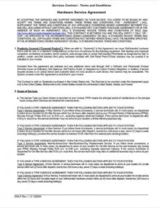 Costum Website Maintenance Contract Template