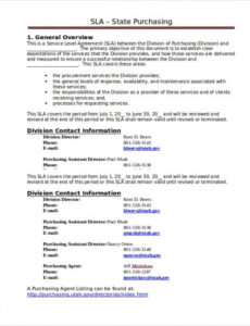 Costum Website Service Contract Template Excel Sample