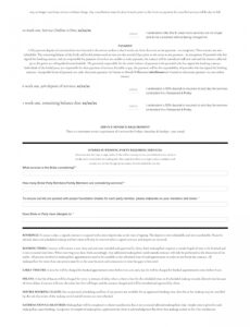 Editable Bridal Contract Template For Makeup