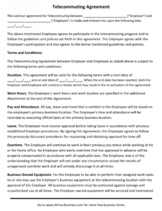 Editable Contract Policy Template Excel
