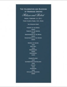 Editable Rehearsal Dinner Timeline Template Excel