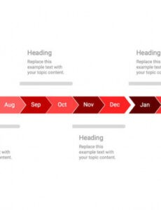 Free Monthly Timeline Powerpoint Template