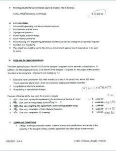 Interior Decorator Contract Template Word