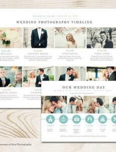 Wedding Timeline Template For Guests Doc Sample